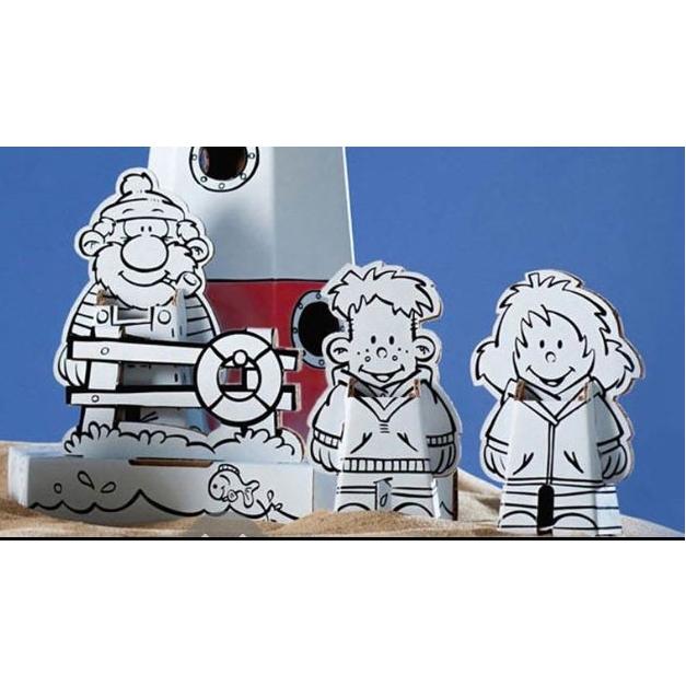 Maak je eigen kartonnen mascotte