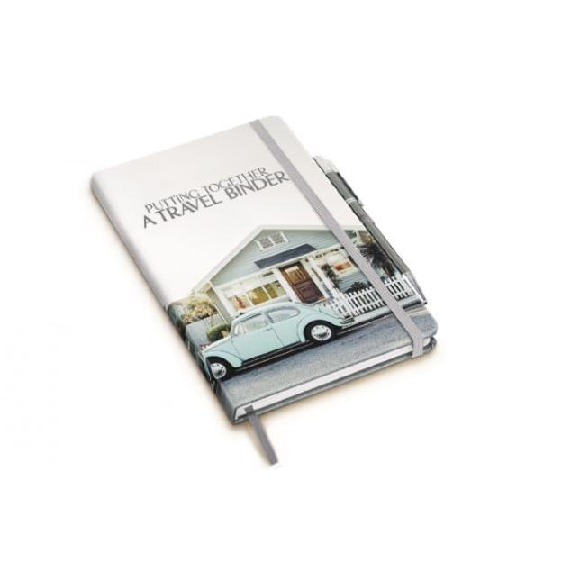 A5 Notitieboek met full color omslag