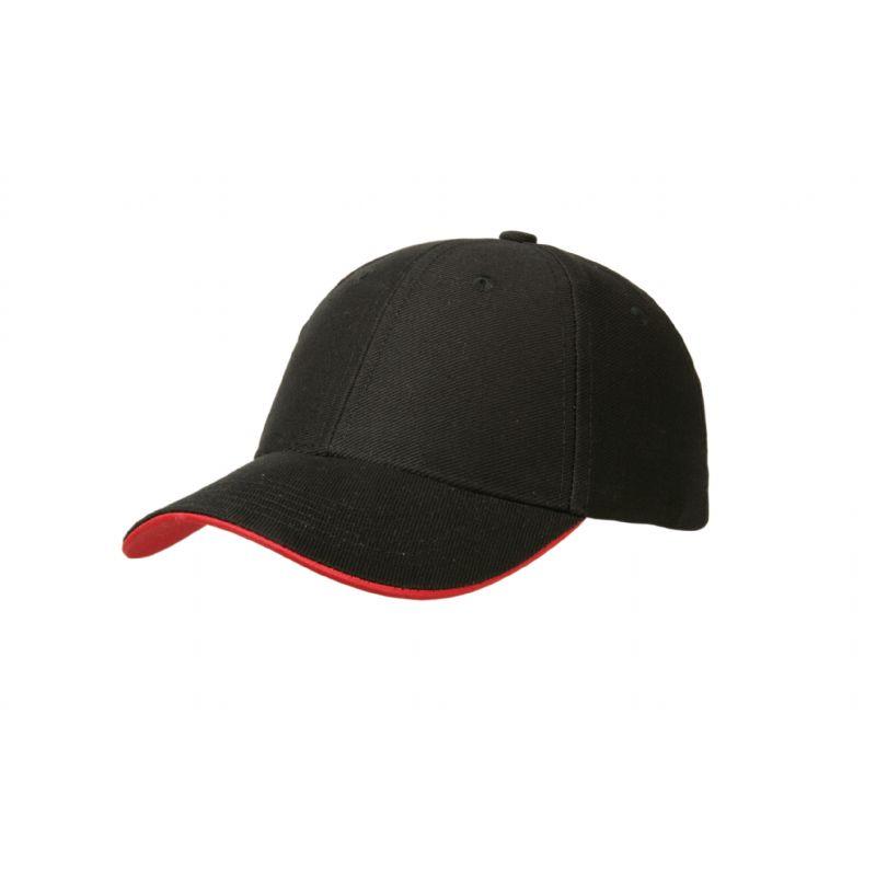 Zware 2-kleurige Strap cap
