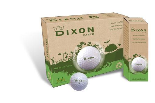 De 'groene' golfbal