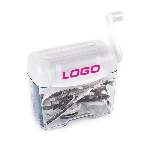Papierversnipperaar met jouw logo