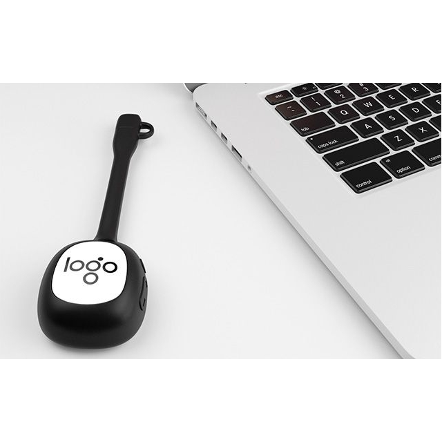 Bluetooth speaker met buigzame houder