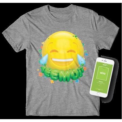 T-shirt met interactieve print
