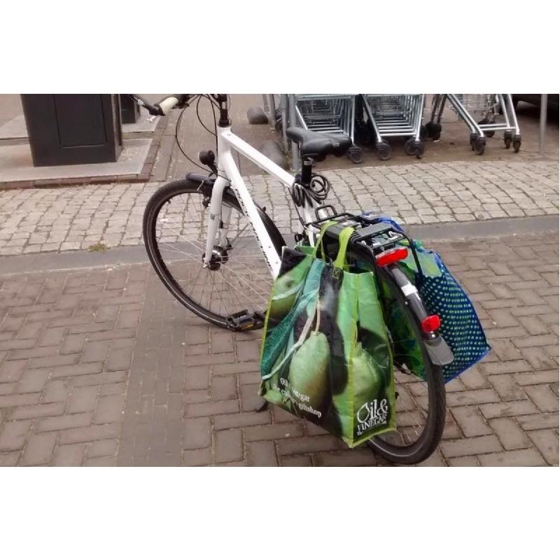 Handige drager voor uw shopping bags