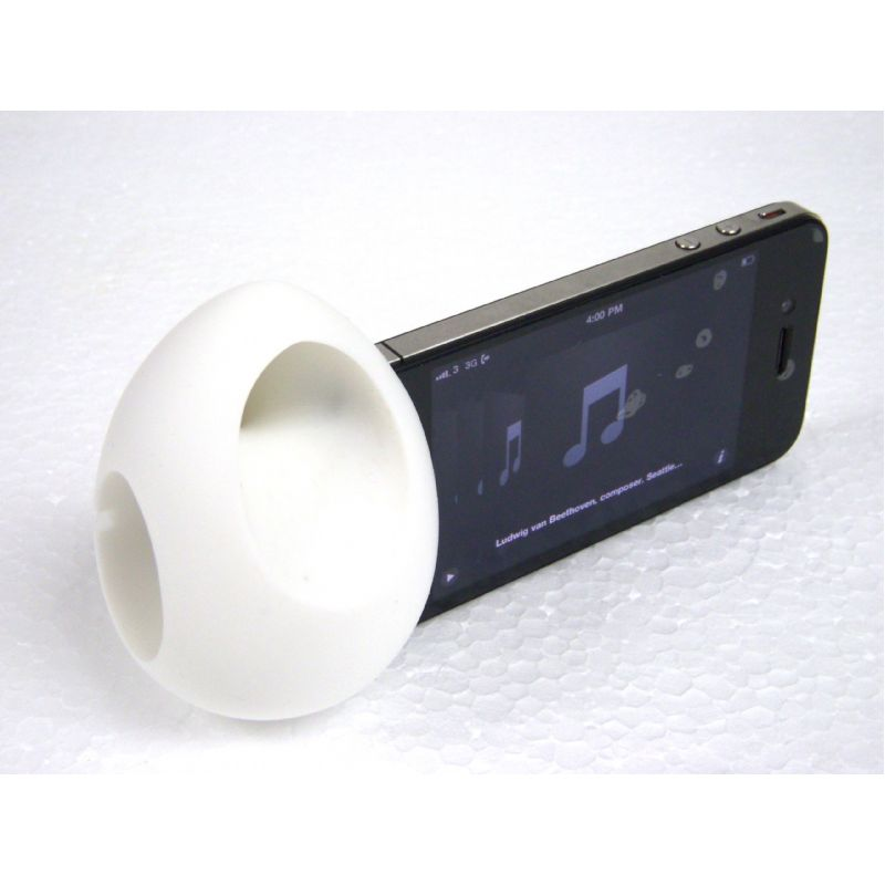 Innovatieve speaker voor iPhone4