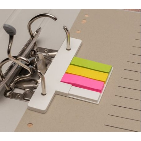 USB voor ringmap met post its