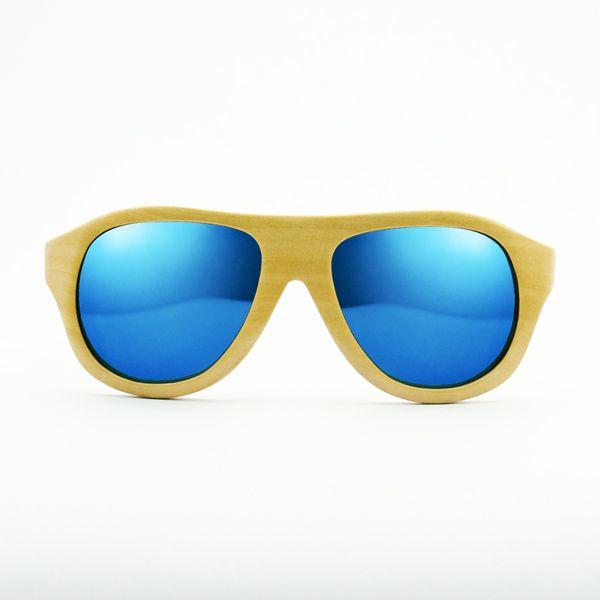 beukenhouten zonnebril
