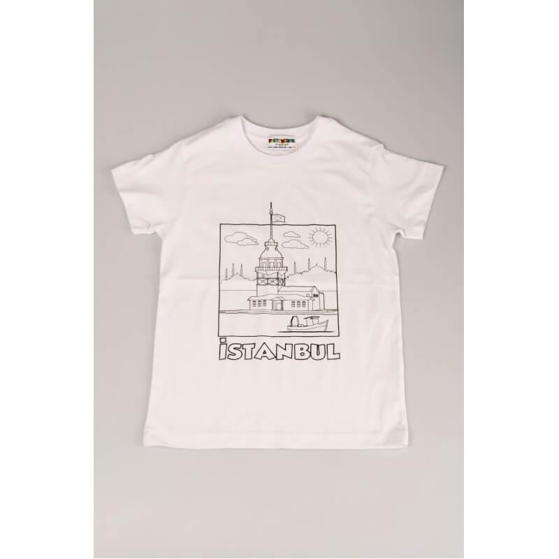 Kleur je eigen T-shirt