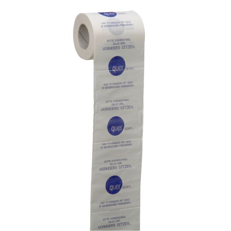 WC papier met grote boodschap
