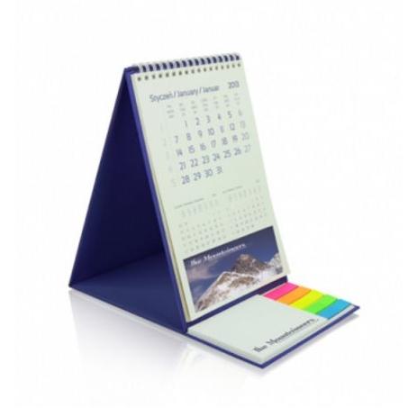 Kalender met zelfklevende blaadjes
