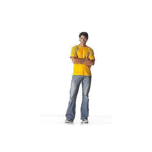 Heavy weight T-shirt in het wit of naturelkleur (180 gr/m2)