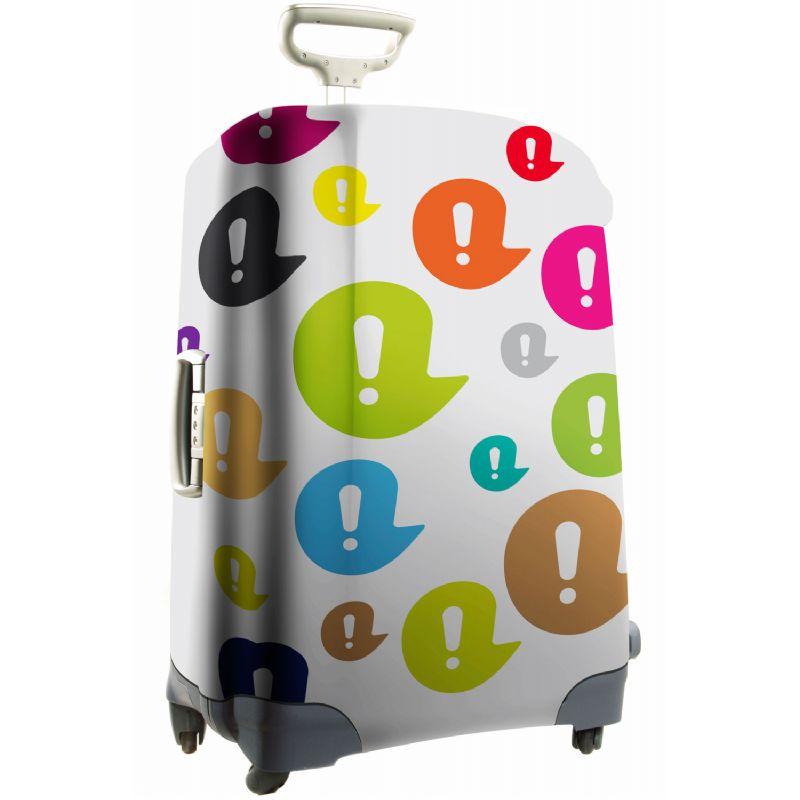 Full color bedrukte kofferhoes