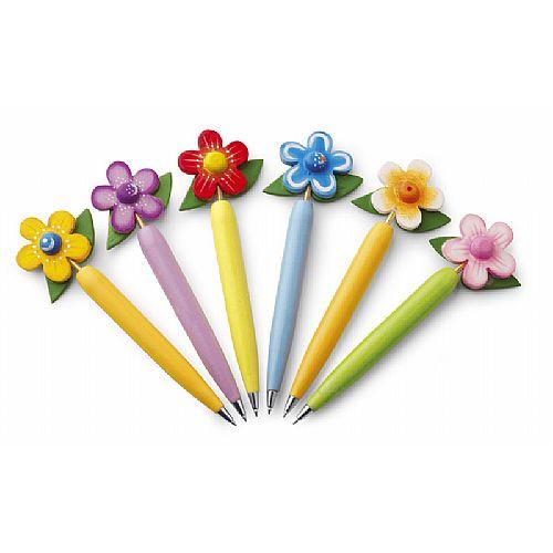Balpen in bloemvorm