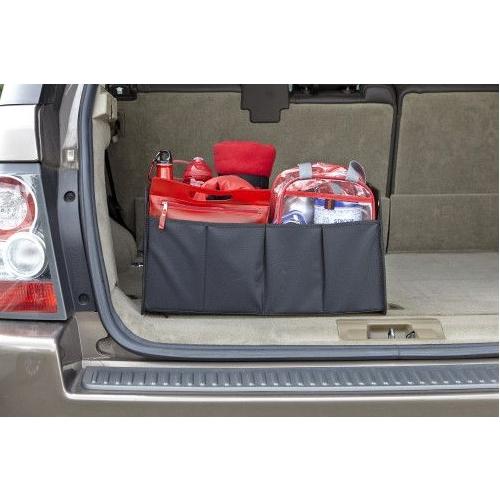 Organiseer je kofferbak.