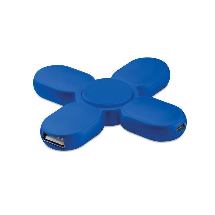 Hub spinner met 3 USB poorten.