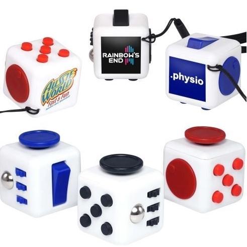 Fidget cube verkrijgbaar in kleine aantallen