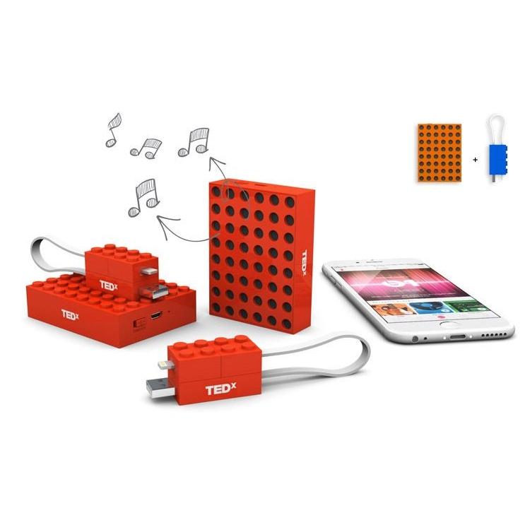 2-in-1 luidspreker en laadkabel