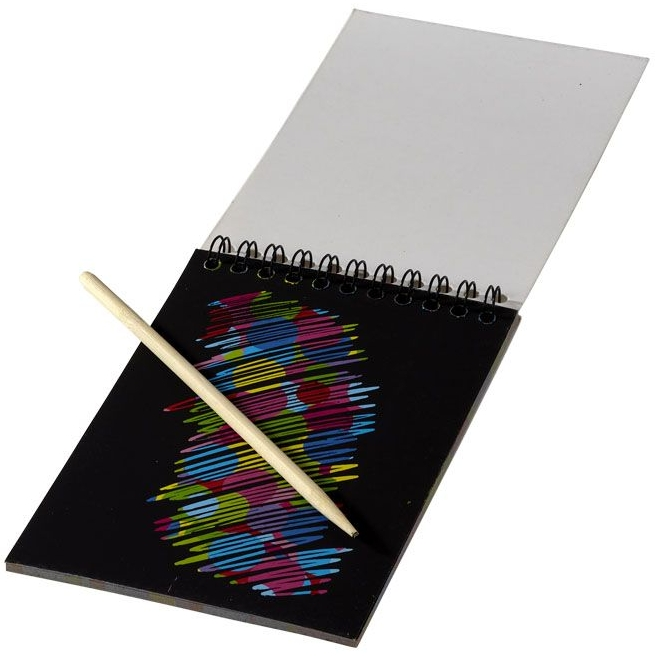 Kleurrijk krasboek