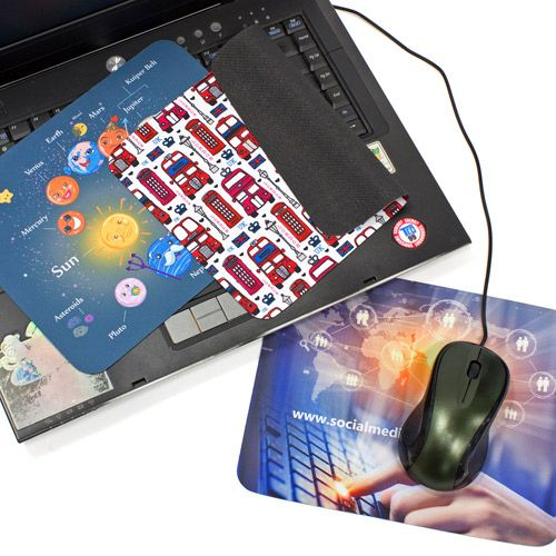 3-in-1 Muismat voor laptop