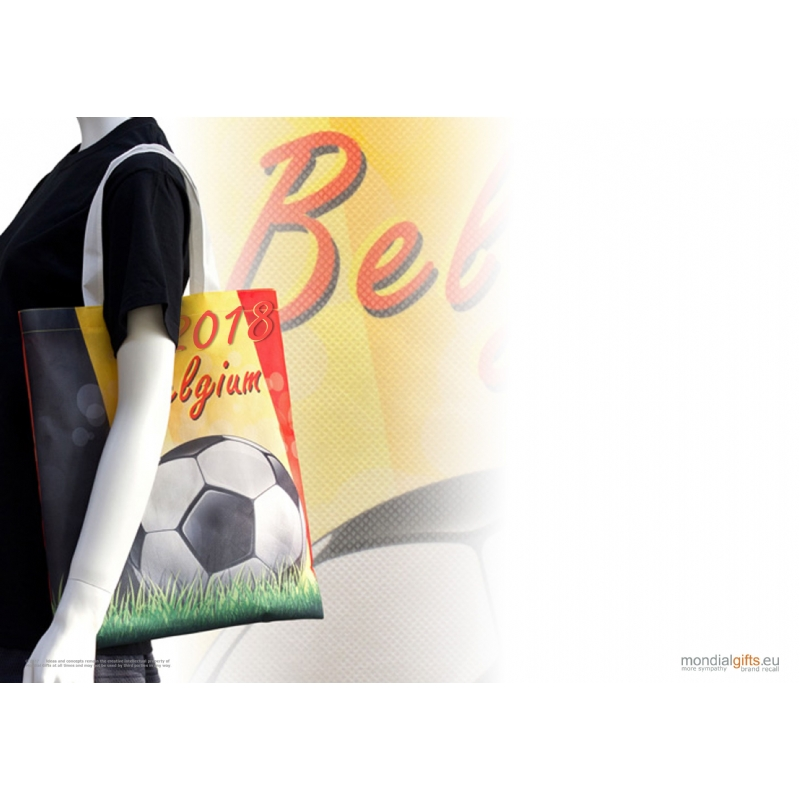Totebag in thema Belgisch voetbal