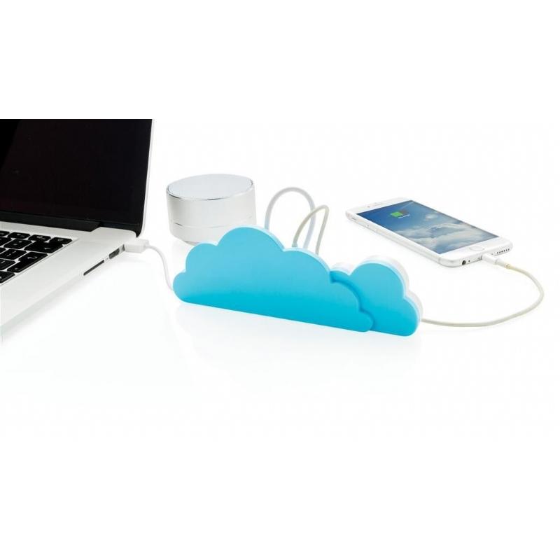 USB-hub met 4 USB 2.0-poorten