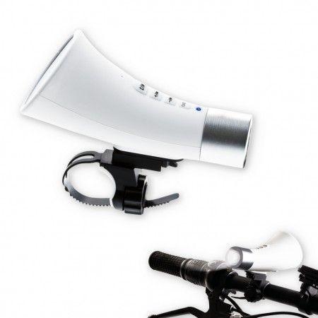 Verlichting en speaker voor je fiets