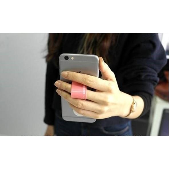 Smartphone houder met grip