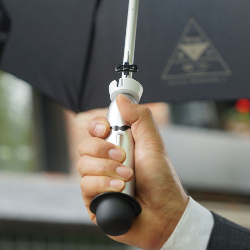 Slimme paraplu die het weer voorspelt