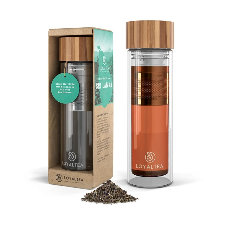 Take-away thee infuser