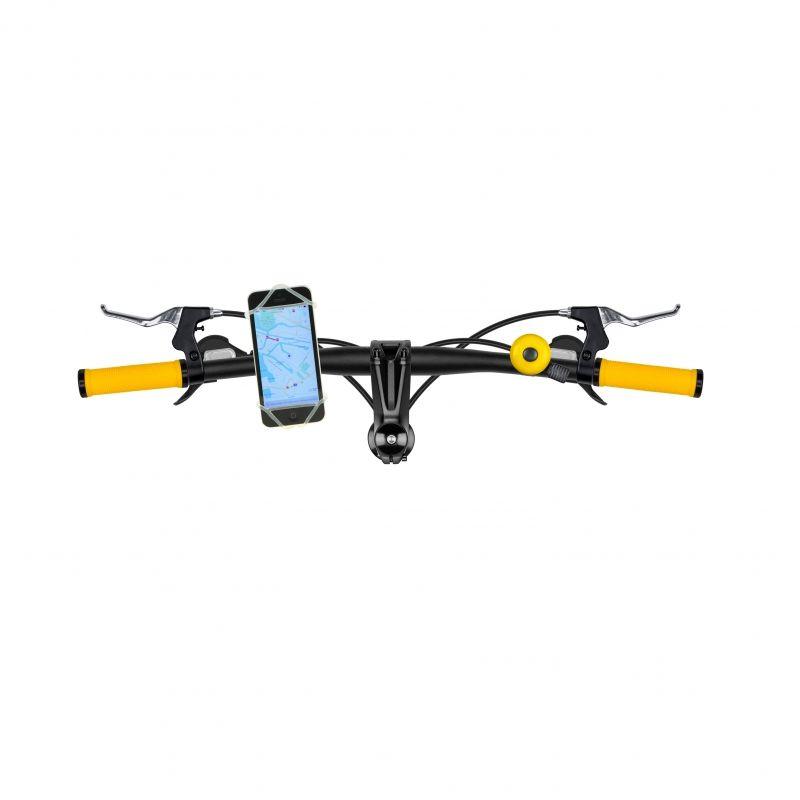 Flexibele smartphonehouder voor fiets