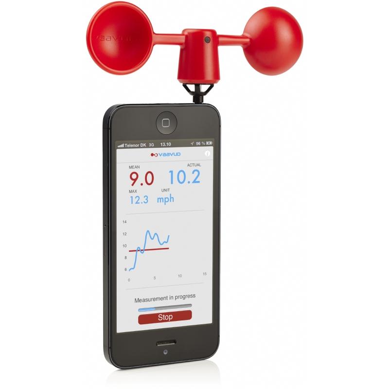 Windmeter voor smartphone