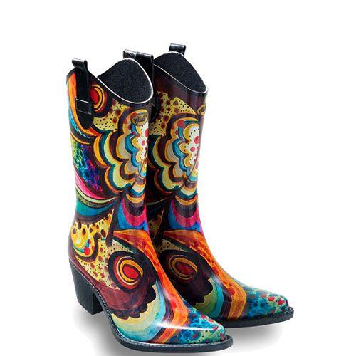 Hippe regenlaarzen en festival laarzen